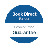 Book Direct for our Lowest Price Guarantee