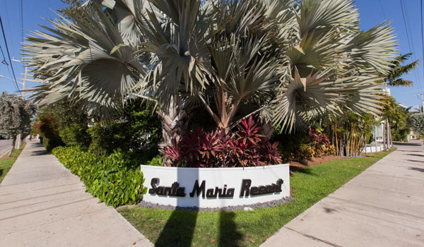 Location of Santa Maria Suites Resort