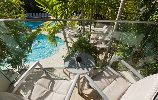 2 Bedroom Bi Level Pool View at Santa Maria Suites Resort